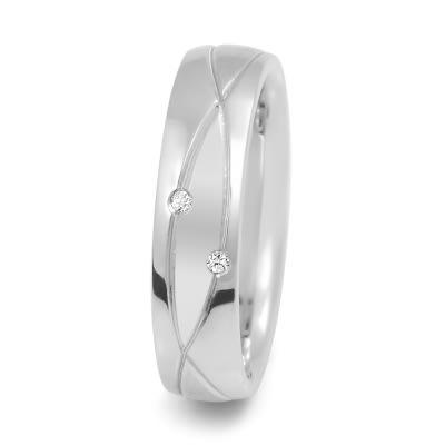 Damenring Silver & Diamonds Touch