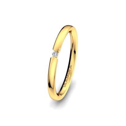 Anello da donna Alluring Balance 2 mm