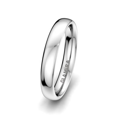 Anello da uomo Bright Love 4 mm