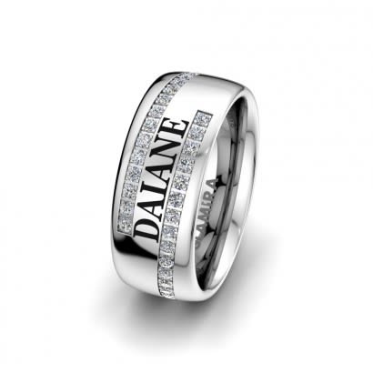 Anello da donna Private Ring 8mm
