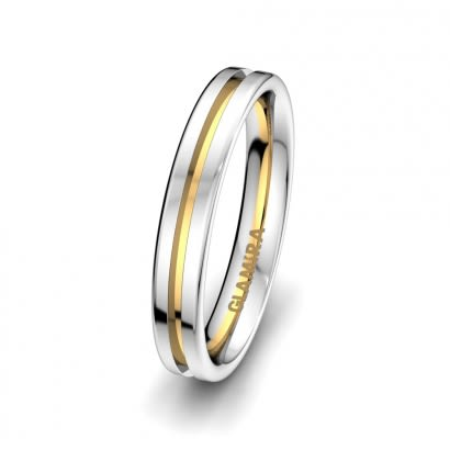 Anello da uomo Alluring Road 4 mm