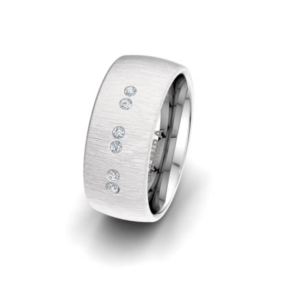 Anello da donna Classic Shield 8mm