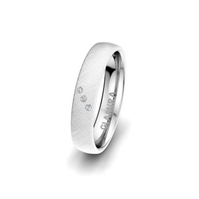 Anello da donna Classic Route 4 mm