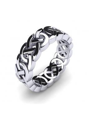 Herrenring Celtic Knot