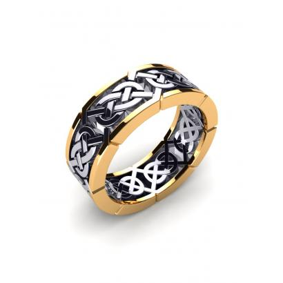 Anello da uomo Celtic Craft