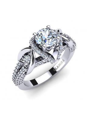 Glamira Bridal Set Crinkly Ring A