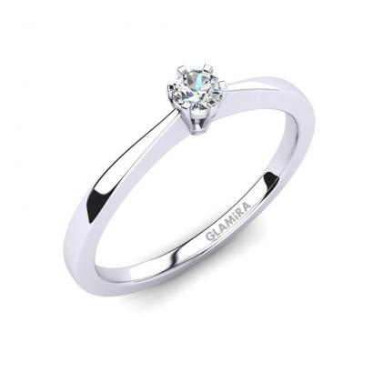 GLAMIRA Bague Bridal Rise 0.1crt