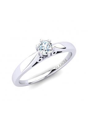 GLAMIRA Ring Bridal Glory 0.16crt