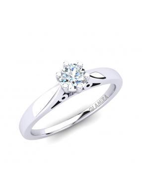 GLAMIRA Ring Bridal Glory 0.25crt