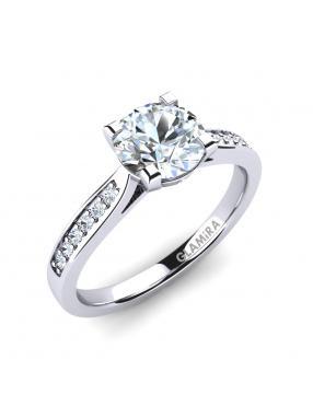 GLAMIRA Ring Alina 1.0crt