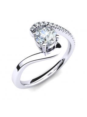 GLAMIRA Ring Doreen 0.5crt