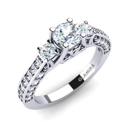 Glamira Set per Sposa Gemmiferous Anello A