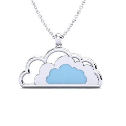 GLAMIRA Collier Nuvola