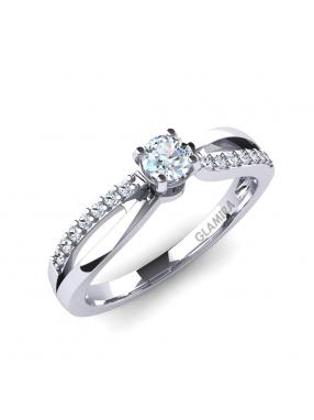 GLAMIRA Ring Jade 0.16crt