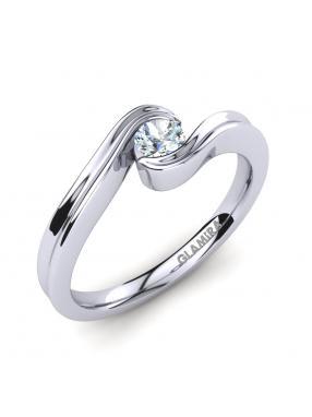 GLAMIRA Ring Adele 0.16crt