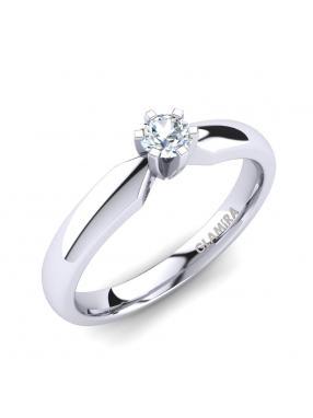 GLAMIRA Ring Amanda 0.16crt