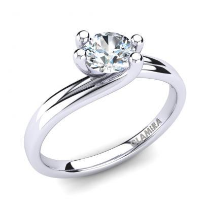 GLAMIRA Bague Bridal Dream 0.5crt