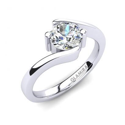 GLAMIRA Bague Bridal Element 0.8crt