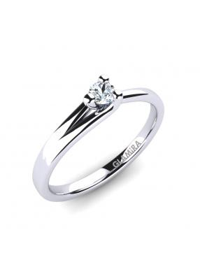 GLAMIRA Ring Bridal Heart 0.1crt