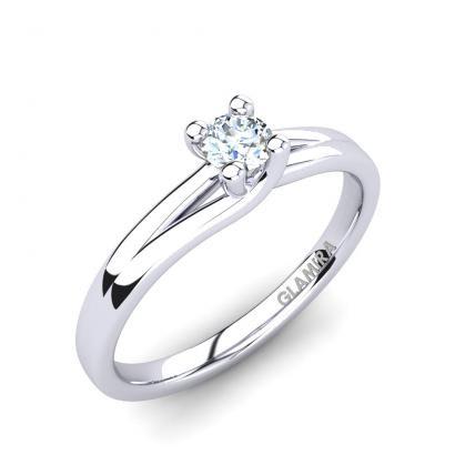 GLAMIRA Bague Bridal Heaven 0.16crt