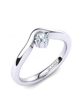 GLAMIRA Ring Bridal Love 0.16crt