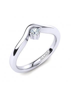 GLAMIRA Ring Bridal Love 0.1crt