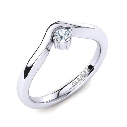 GLAMIRA Anello Bridal Love 0.1crt