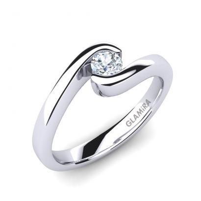 GLAMIRA Bague Bridal Luxuy 0.16crt