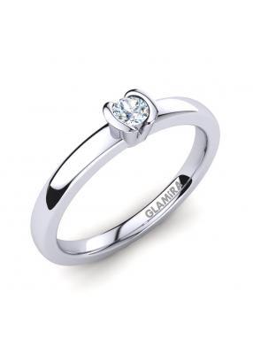 GLAMIRA Ring Farrah 0.1crt