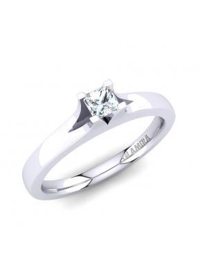 GLAMIRA Ring Alvina 0.2crt