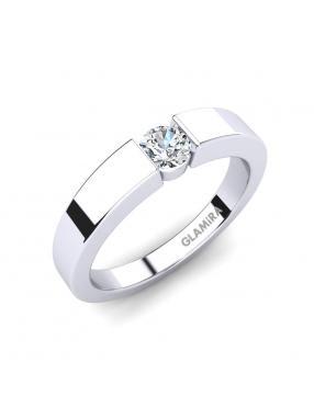 GLAMIRA Ring April 0.25crt