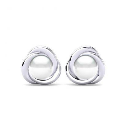 GLAMIRA Boucles d'oreilles Rosy 8 mm