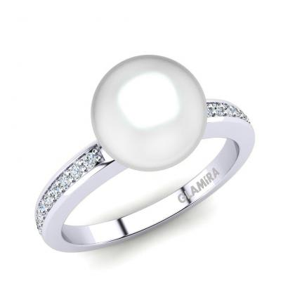 GLAMIRA Bague Lucency 8 mm