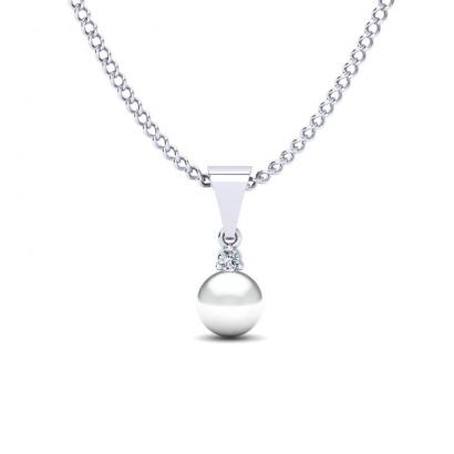 GLAMIRA Collier Pearly