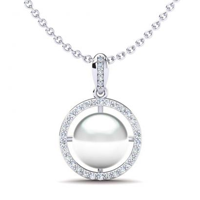 GLAMIRA Collier Serenity 10 mm
