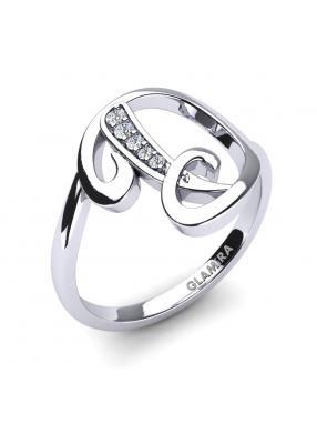 Glamira Initialen Ringe D
