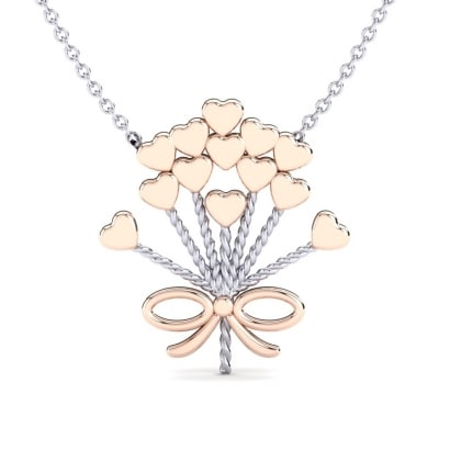 GLAMIRA Collier Ramove Bouquet
