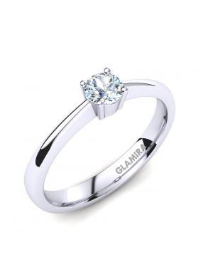 GLAMIRA Ring Julia 0.25crt