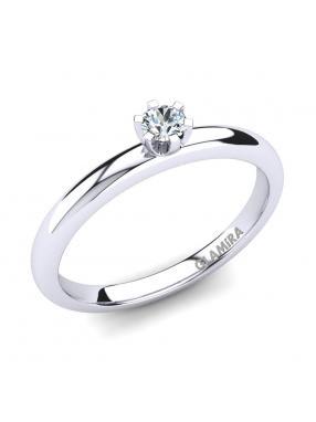 GLAMIRA Ring Katherina 0.1crt