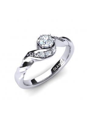 GLAMIRA Ring Leona 0.16crt