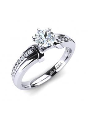 GLAMIRA Ring Mirabella 0.5crt