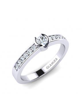 GLAMIRA Ring Penthe 0.1crt