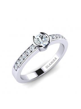 GLAMIRA Ring Penthe 0.5crt