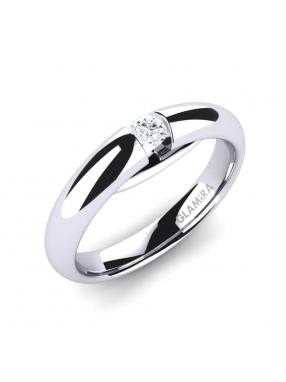 GLAMIRA Ring Ursula 01crt