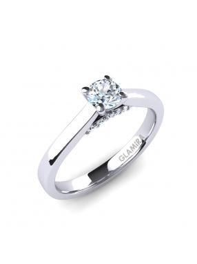 GLAMIRA Ring Violet 25crt