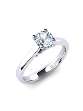 GLAMIRA Ring Violet 05crt