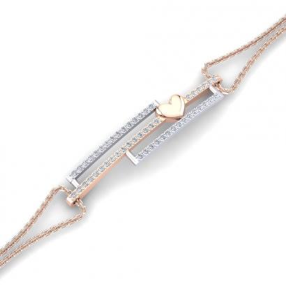 GLAMIRA Bracelet Eundra