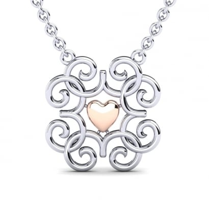 GLAMIRA Collier Apate Coeur