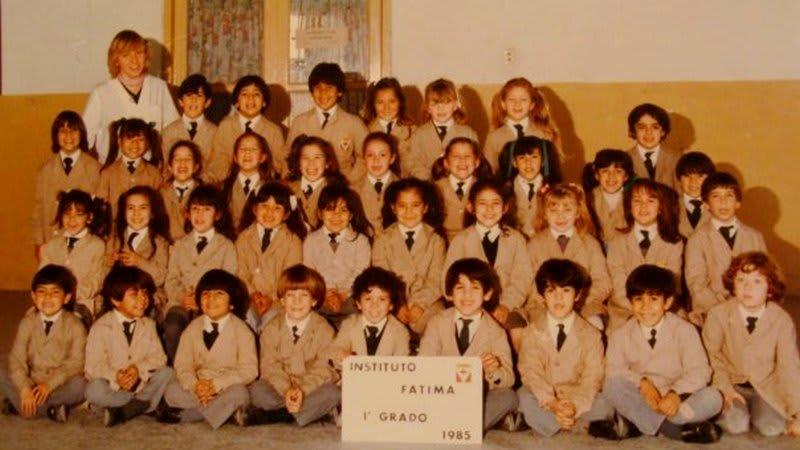 Uniforme de primaria en escuela semi-privada (Foto: Mariana Cámpera/Voz de Croacia)