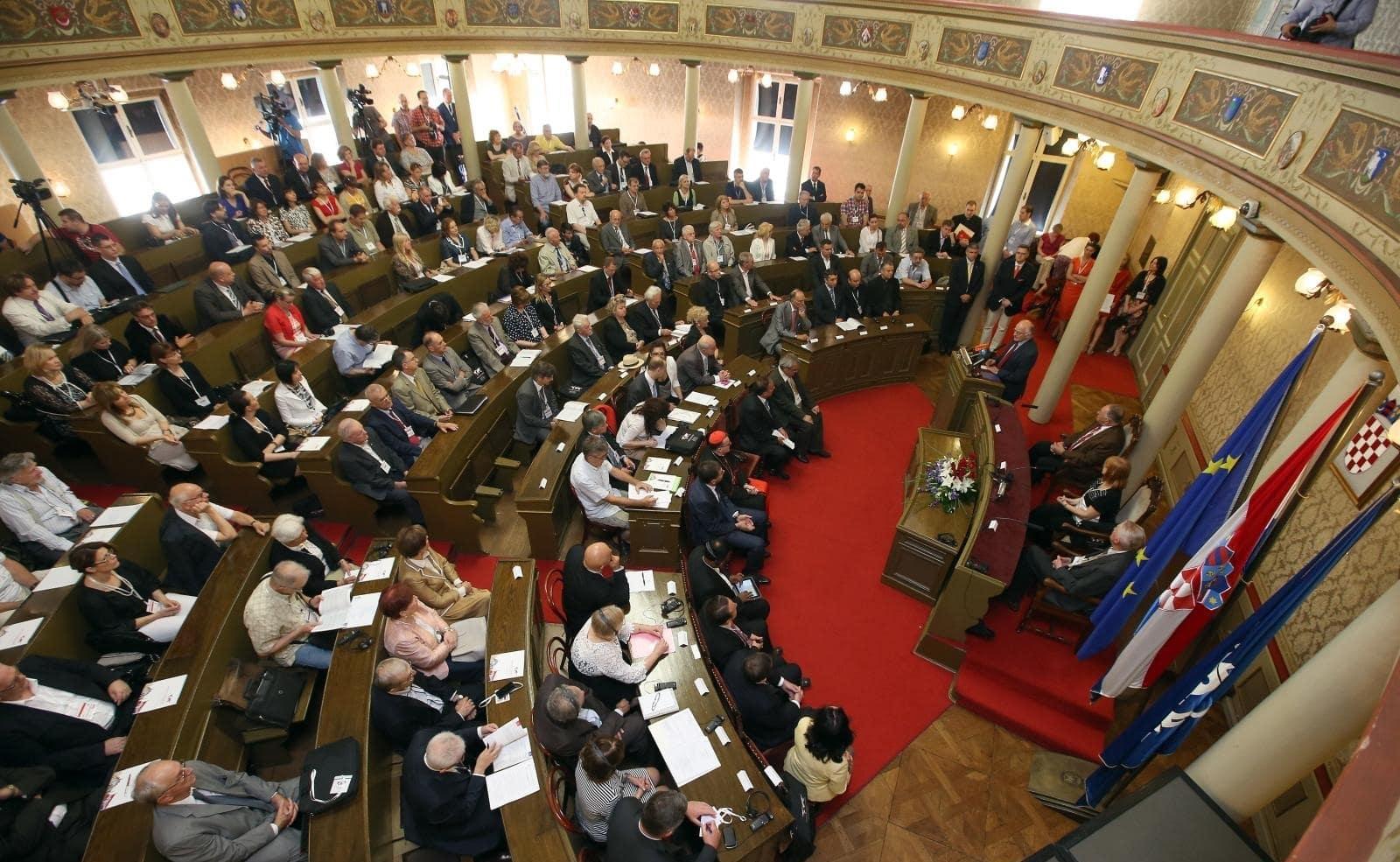 Der Auslandskroaten-Kongress in Šibenik (Foto: Robert Anic_PIXSELL)